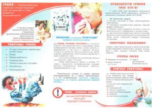 Советы родителям во время эпидемии гриппа.